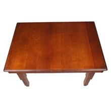 French Oak Art Deco Dining Table