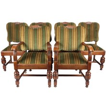 Danish Dining Chairs, S/6