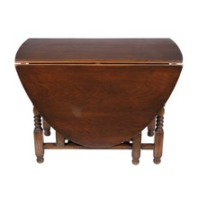 English William and Mary Gate Leg Table