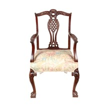 English Modified Chippendale Armchair