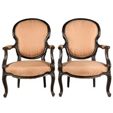 1860s French Rococo-Style Chairs