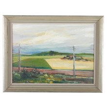 1948 Olof Sundeman Oil Painting