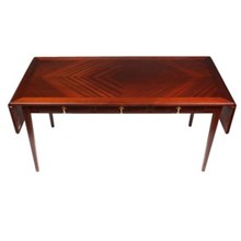 1950s Modernist Mahogany Coffee Table