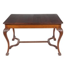 1920s Art Noveau-Chippendale-Style Table