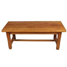 Mission-Style Oak Coffee Table