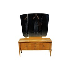 1930s Directoire Maple Dressing Table