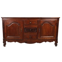 19th-C. French Louis XV-Style Buffet