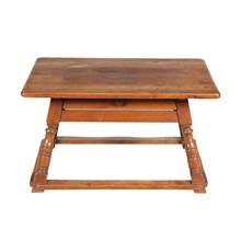 19th-C. Austrian Work Bench Table