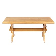 French Country-Style Trestle Table