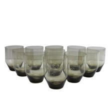 Bamboo Etched Glasses, S/11