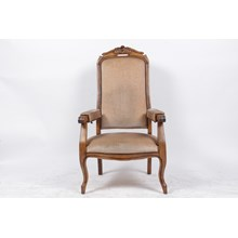 19th-Century French Voltaire Mechanical Armchair