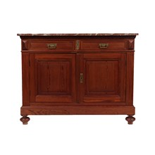 Antique Edwardian-Style Buffet Ca 1910