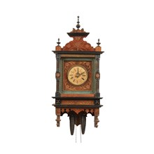 19th-C. Dutch Wall Clock