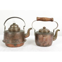 Antique Copper Kettles, S\2