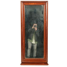 19th-C. Danish Empire Mirror