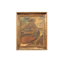 1940's Abstract Nautical Scene by Ejnar Nielsen