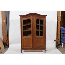 Vintage Louis XV-Style Display Cabinet