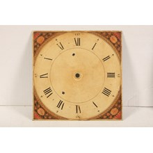 Antique Hand-Painted Dutch Clock Face