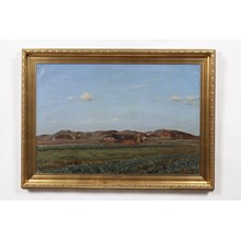 1929 Impressionist Farm Landscape by Sand Holm