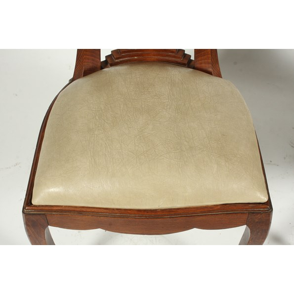 1930 S French Art Deco Dining Chairs S 4 Vintique