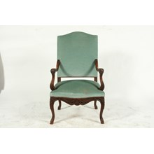 19th-C. French Louis XVIII-Style Armchair
