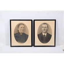 Pair of Early 20th-Century Couples Portrait