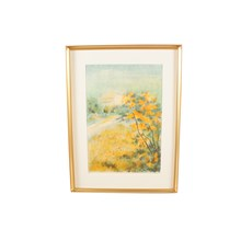 """Autumn Yellows"" Lithograph"