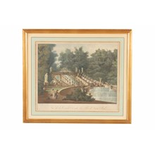 Parc de Saint Cloud Engraving