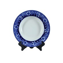 Flow Blue Turin by JB Rim Soup Bowl