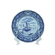Holland Delfts Plate Wall Hanging