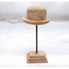 Alfie, Wood Hat Mold