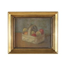 1918, Basket of Fruit Still Life