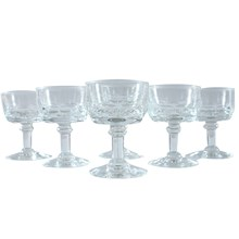 French Petite Champagne Glasses, S/6
