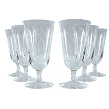French Water Goblets, Set of 6