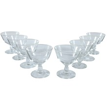 Coupe Cordial Glasses, Set of 8