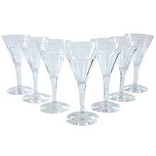 French Sherry Glasses, Set of 7