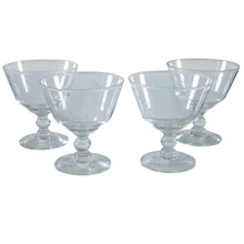 Coupe Sherbet Glasses, Set of 4