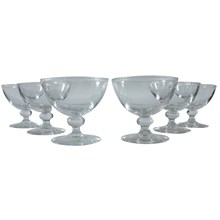 Coupe Champagne Glasses, Set of 6