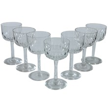 French Sherbert Glasses, Set of 7