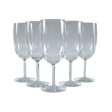 French Wine Glasses, Set of 5