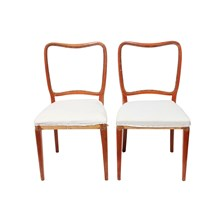 Swedish Deconstructed Chairs, Pair