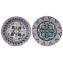 Decorative Wall Plates, Pair