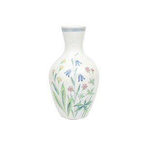 Rorstrand Swedish Vase Summer Flowers Vintique